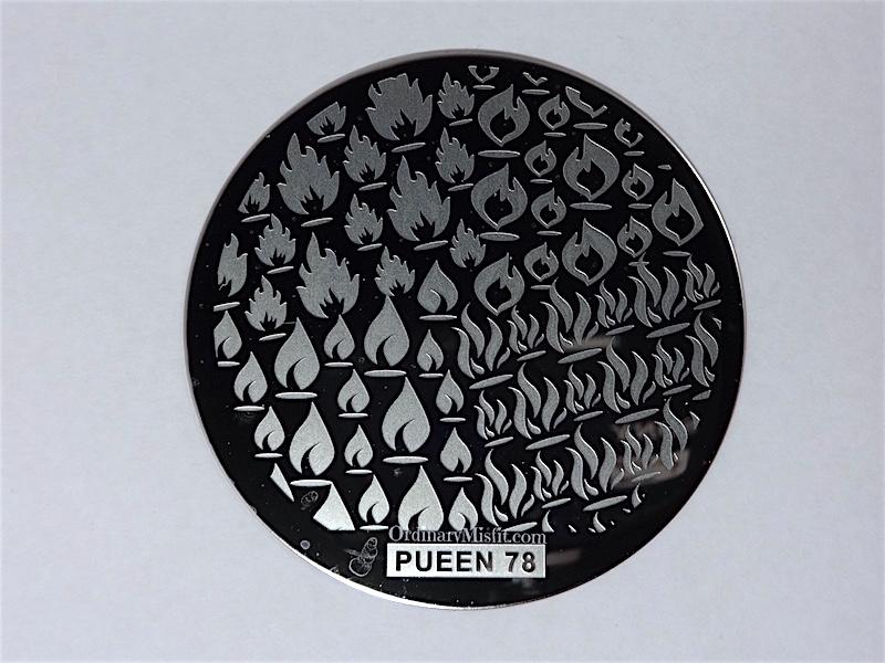 Pueen Buffet leisure stamping plates pueen78