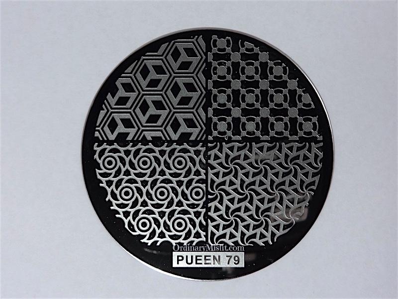 Pueen Buffet leisure stamping plates pueen79