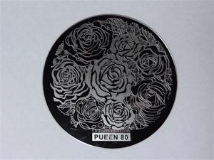 Pueen Buffet leisure stamping plates pueen80
