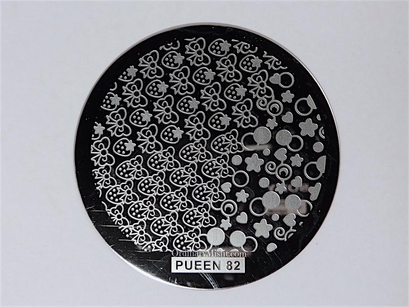 Pueen Buffet leisure stamping plates pueen82