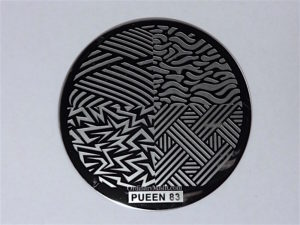 Pueen Buffet leisure stamping plates pueen83