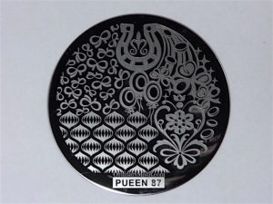 Pueen Buffet leisure stamping plates pueen87