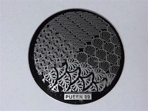 Pueen Buffet leisure stamping plates pueen89