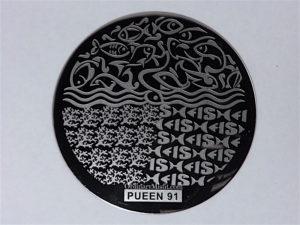 Pueen Buffet leisure stamping plates pueen91
