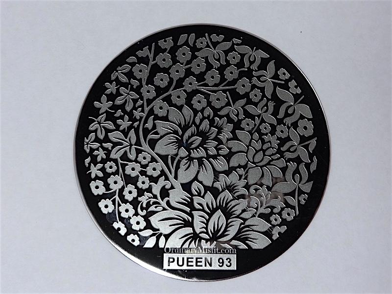 Pueen Buffet leisure stamping plates pueen93