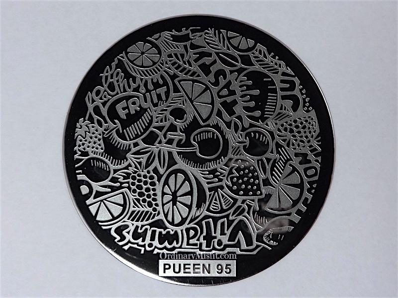 Pueen Buffet leisure stamping plates pueen95