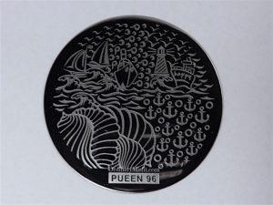 Pueen Buffet leisure stamping plates pueen96