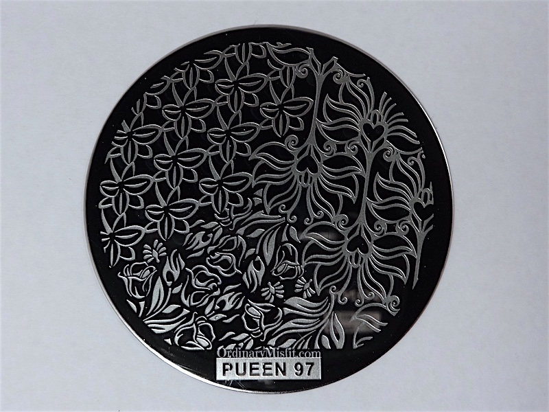 Pueen Buffet leisure stamping plates pueen97