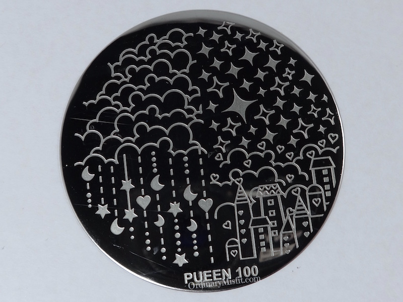 Pueen Make your Day stamping plates pueen100