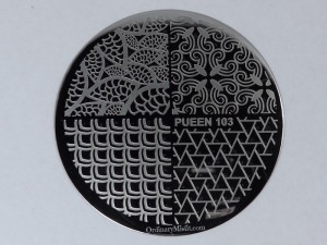 Pueen Make your Day stamping plates pueen103
