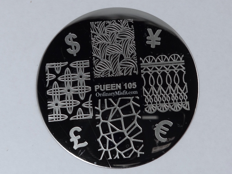 Pueen Make your Day stamping plates pueen105
