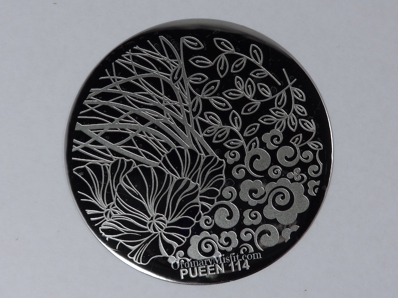Pueen Make your Day stamping plates pueen114