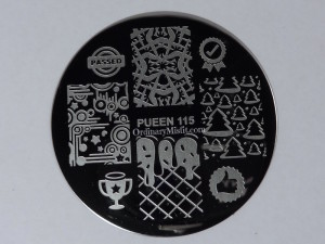 Pueen Make your Day stamping plates pueen115