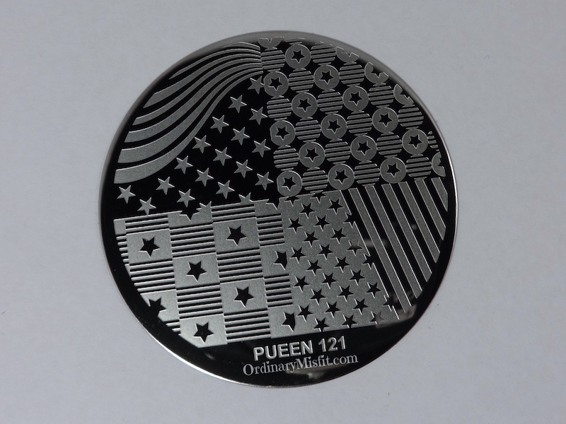 Pueen Make your Day stamping plates pueen121