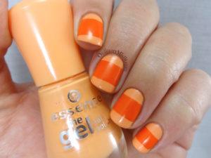 31DC2016 Day 2 Orange nails
