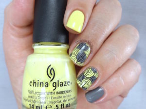 31DC2016 Day 3 - yellow nails