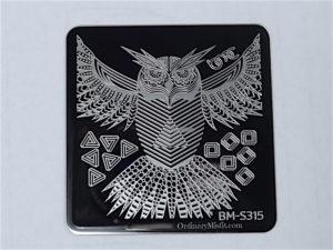 Bundle Monster Musik City stamping plates BM-S315