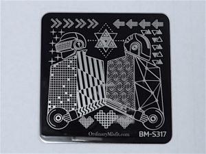 Bundle Monster Musik City stamping plates BM-S317