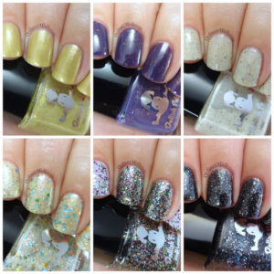 Dollish Polish Epic deaths collection collage