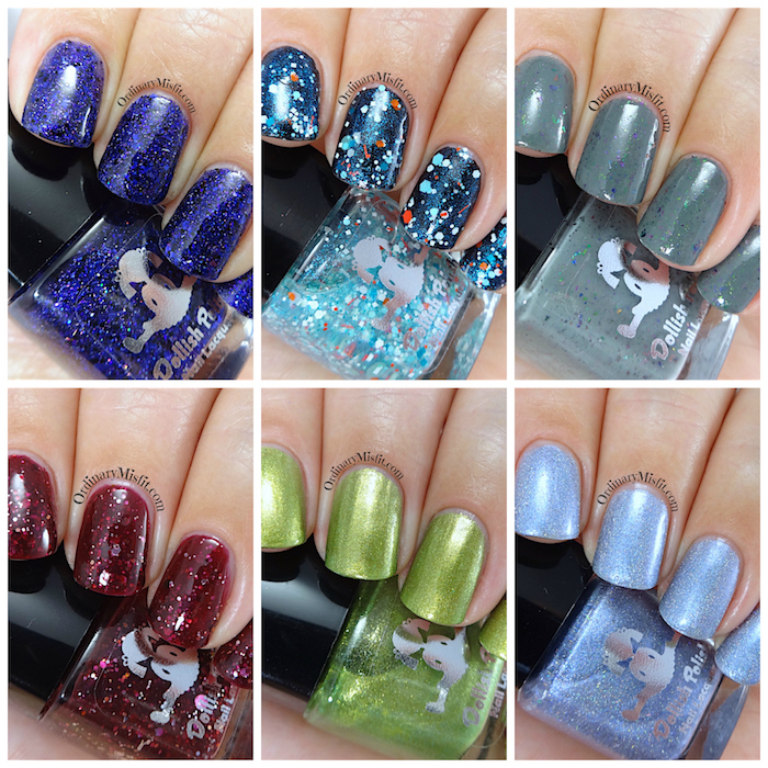 Dollish Polish - Never trust the living - Beetlejuice collection collage