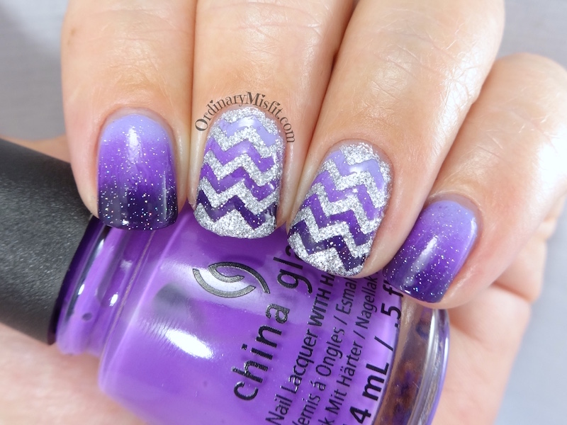 31DC2016 Day 6 - Violet nails