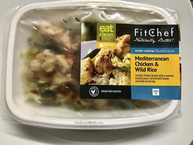 Mediterranean Chicken with wild rice