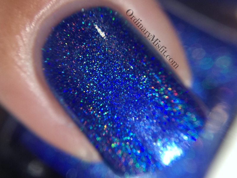 Dollish Polish - The angels have the phonebox macro holo