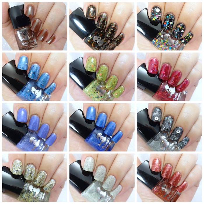 Dollish Polish ultimate fandom collection collage