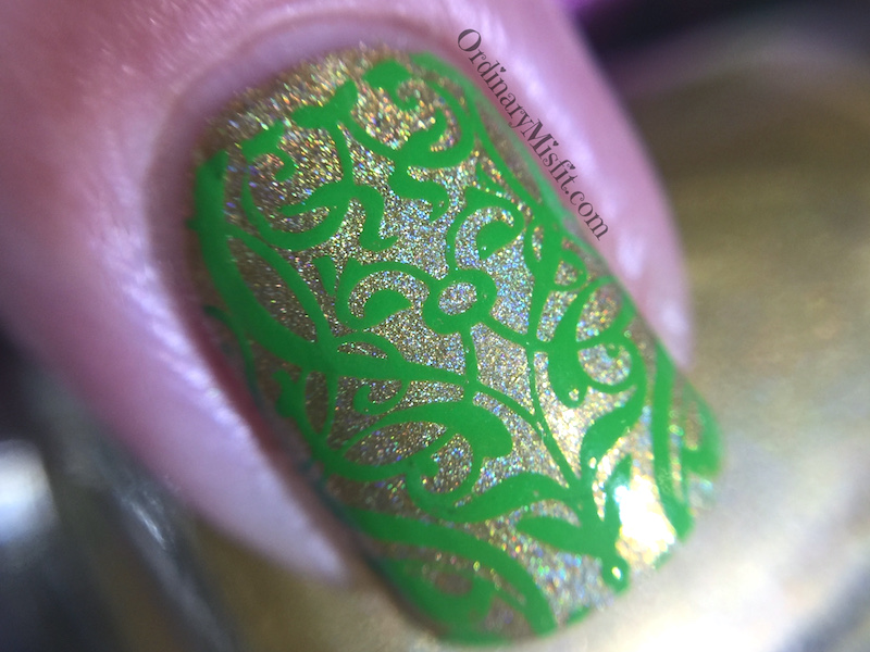 Born Pretty Store Starry Sky stamper nail art macro