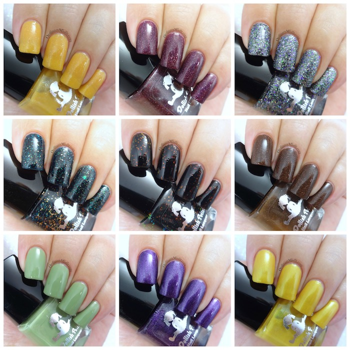 Dollish Polish - Zombieland Rules of survival collection Collage