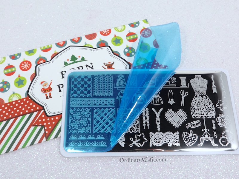 Born Pretty Store stamping plate review BPL-027