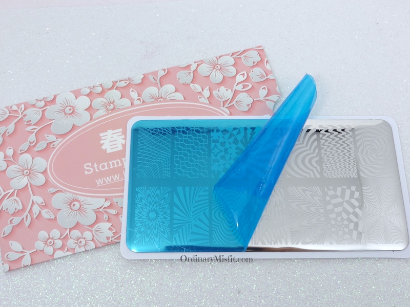 Born Pretty Store stamping plate review BP-L050