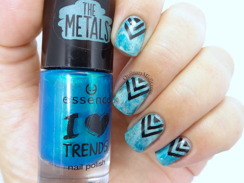Friday Triad Feb Inspired by Pshiiit nail art