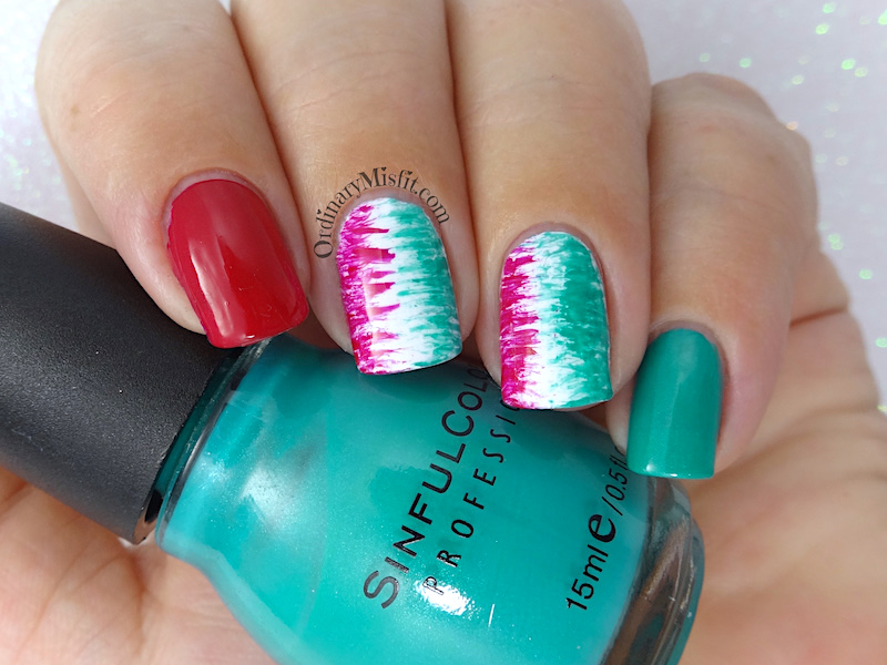 52 week nail art challenge - Inspired by a photo tutorial