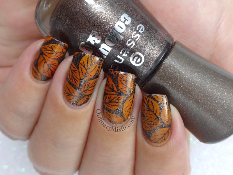 52 week nail art challenge - Autumn