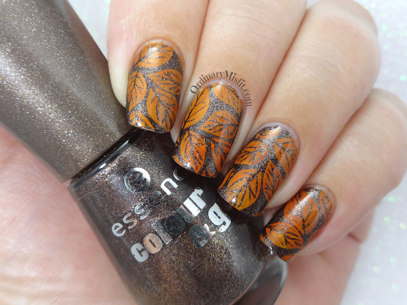 52 week nail art challenge - Autumn