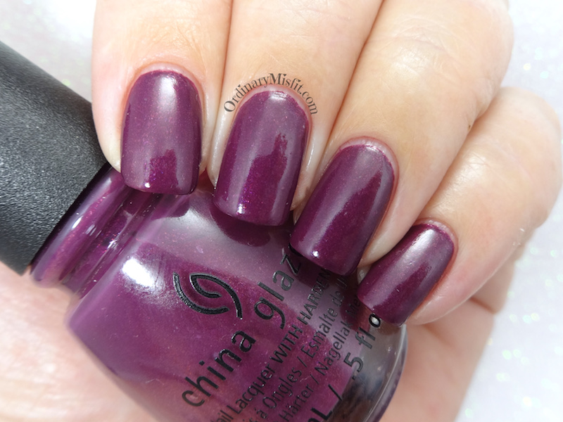 China Glaze - Nice caboose!