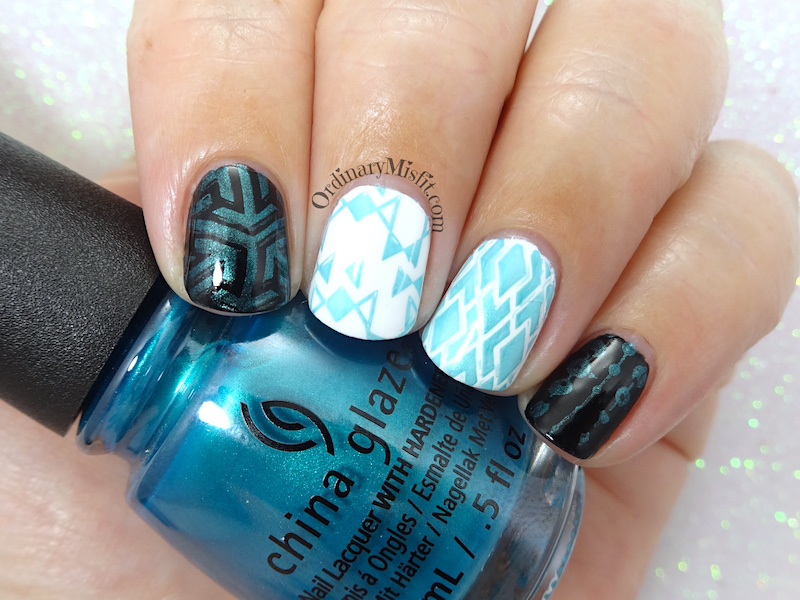China Glaze - Don't teal my vibe