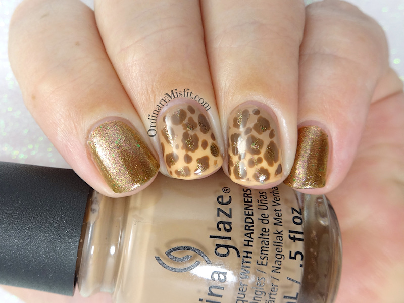52 week nail art challenge - Animal