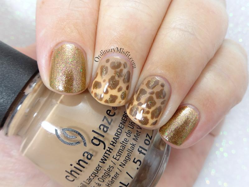 52 week nail art challenge - Animal
