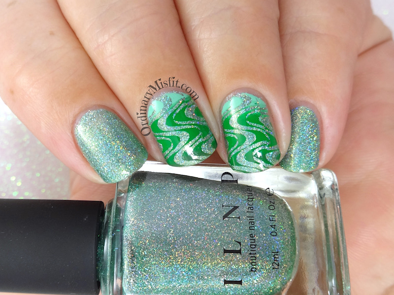 52 week nail art challenge - Green