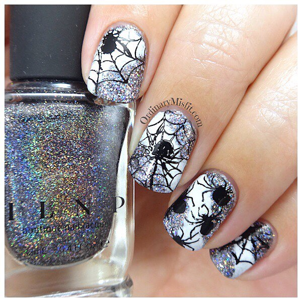 This weeks prompt for polishportfolio s 52weeknailchallenge is Halloween Thishellip