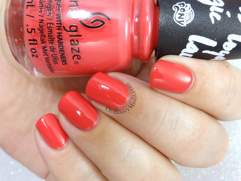 China Glaze - Applejack of my eye 2