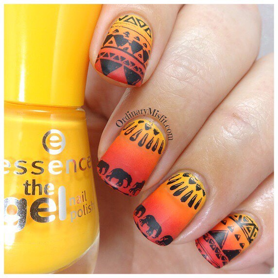 Today on the blog its week 47 of polishportfolio 52weeknailchallengehellip