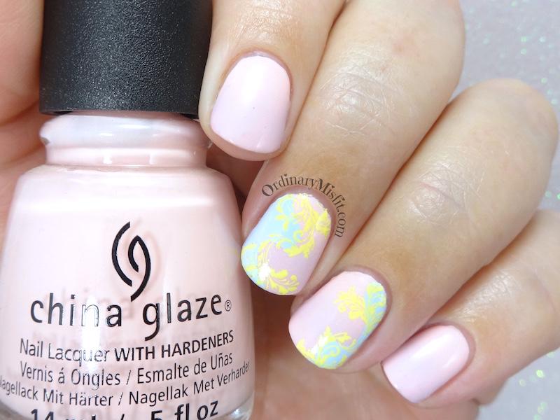 52 week nail art challenge - Pastel
