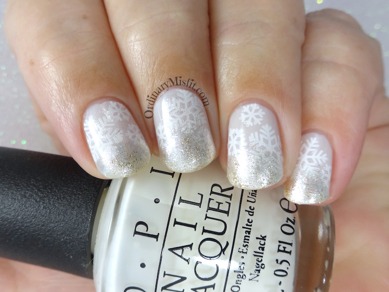 52 week nail art challenge - White