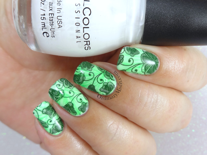 52WeekNailChallenge - Week 6 - Leaves