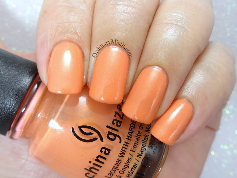 China Glaze - Mimosa's before mani's