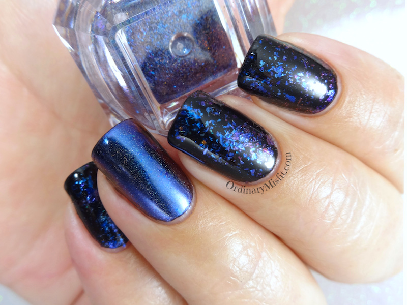Born Pretty Store Holo chameleon flakies review
