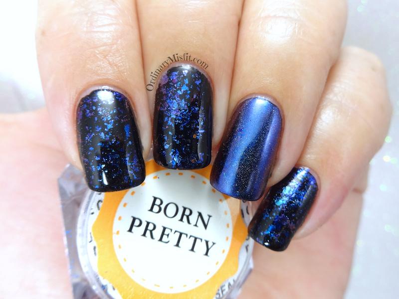 Born Pretty Store Holo chameleon flakies review